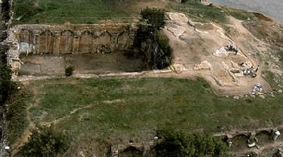 MONESTRY OF SATYROS (or BRYAS PALACE ?)Courtesy of Missioni Archeologiche Italiane in Turchia